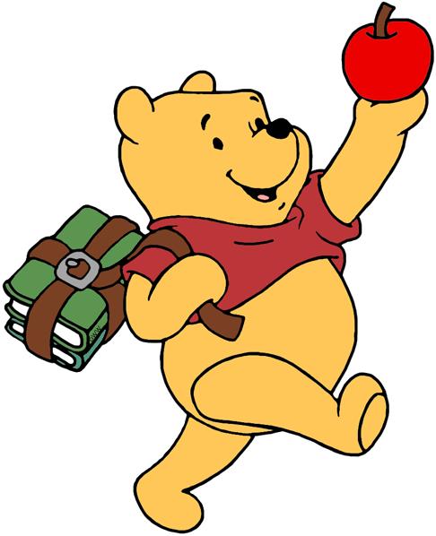 Winnie the pooh clipart math vector Disney Back to School Clip Art 2 | Disney Clip Art Galore vector