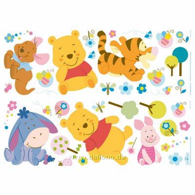 Winnie the pooh clipart panoramic png freeuse Winnie Pooh Panorama appliques - Decofun png freeuse