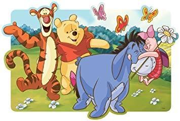 Winnie the pooh clipart panoramic svg library stock Disney Trefl Puzzle Winnie The Pooh Adventures Winnie The Pooh (30 Pieces) svg library stock