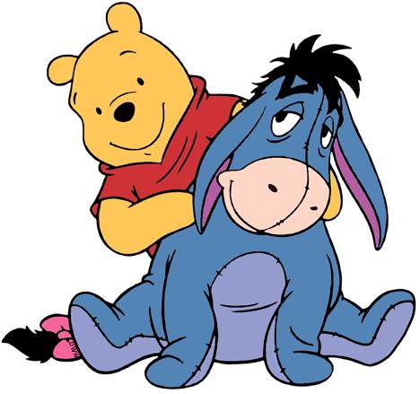 Winnie the pooh eeyore clipart clip art Winnie the Pooh and Eeyore Clip Art ... | Disneybound ... clip art