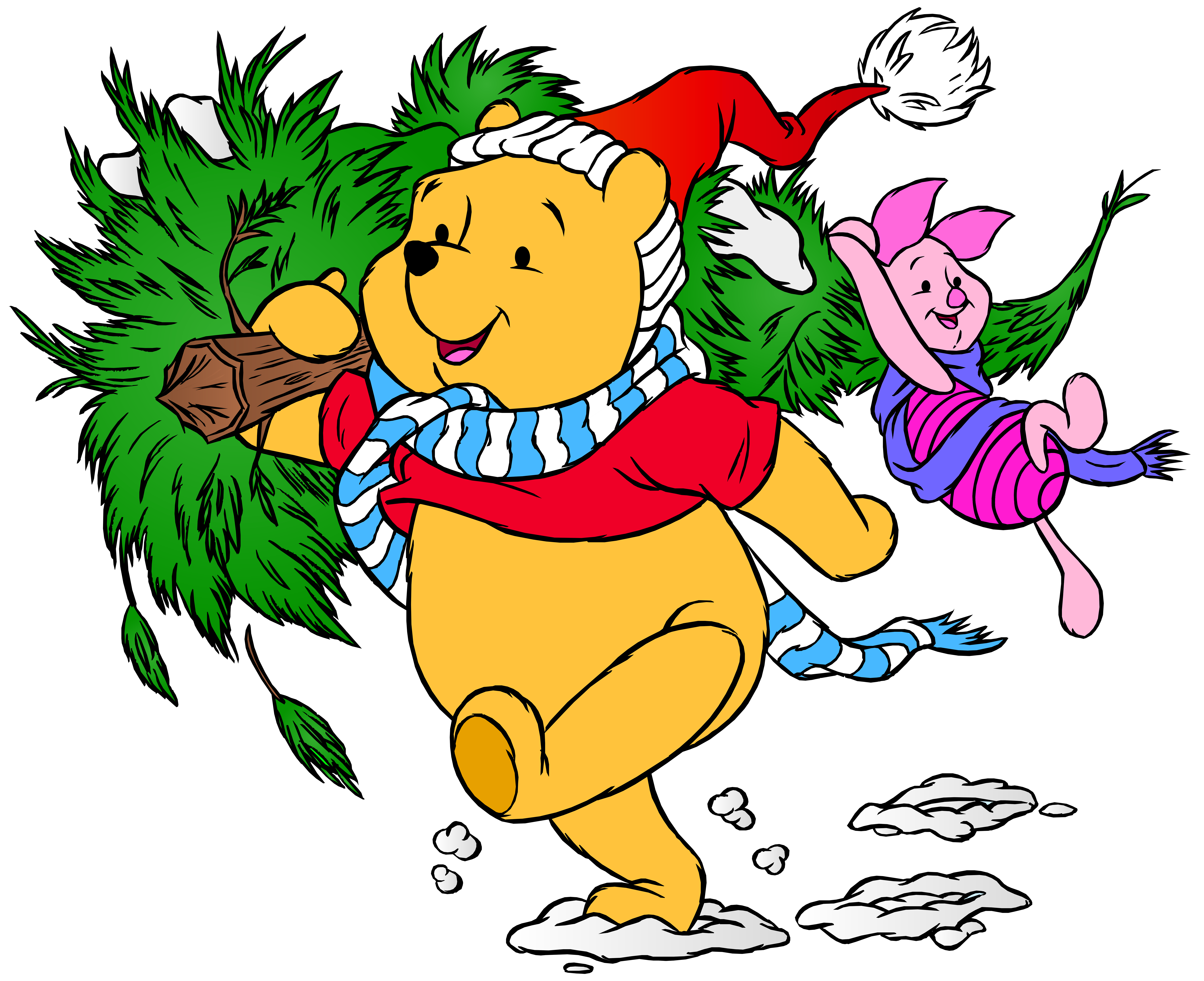 Winnie the pooh halloween clipart vector free download Winnie the Pooh and Piglet Christmas PNG Clip Art Image   Gallery ... vector free download