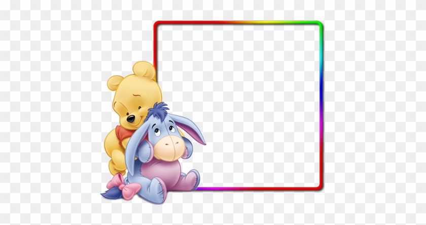 Winnie the pooh showering clipart jpg freeuse library Download Free png Disney Photo Frame Png Winnie The Pooh ... jpg freeuse library