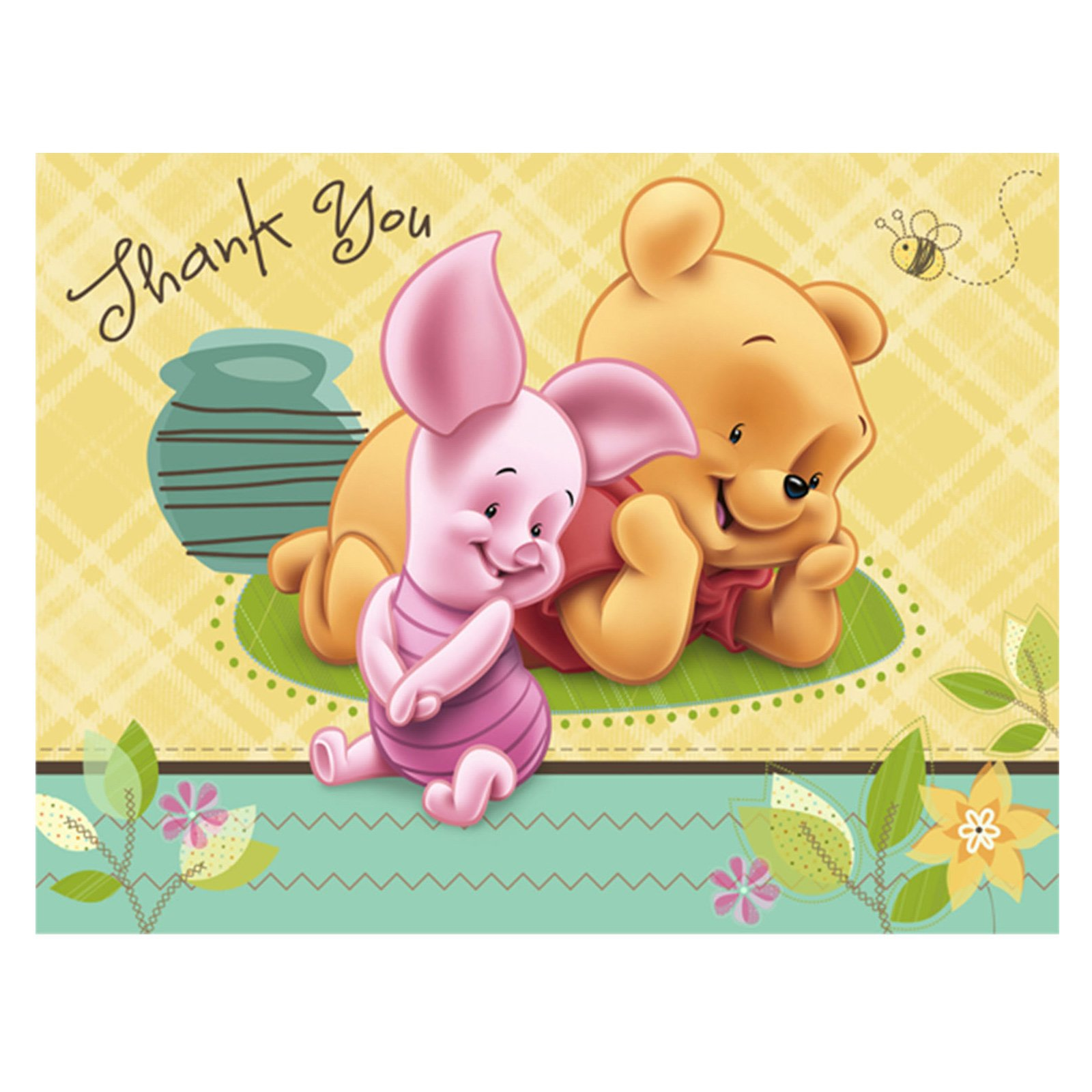 Winnie the pooh thank you clipart quotes black and white library Baby Winnie The Pooh Thank You (#2088627) - HD Wallpaper ... black and white library