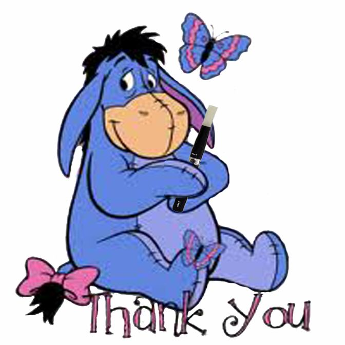 Winnie the pooh thank you clipart quotes graphic stock Eyore is grateful that I turned him onto vaping ... graphic stock