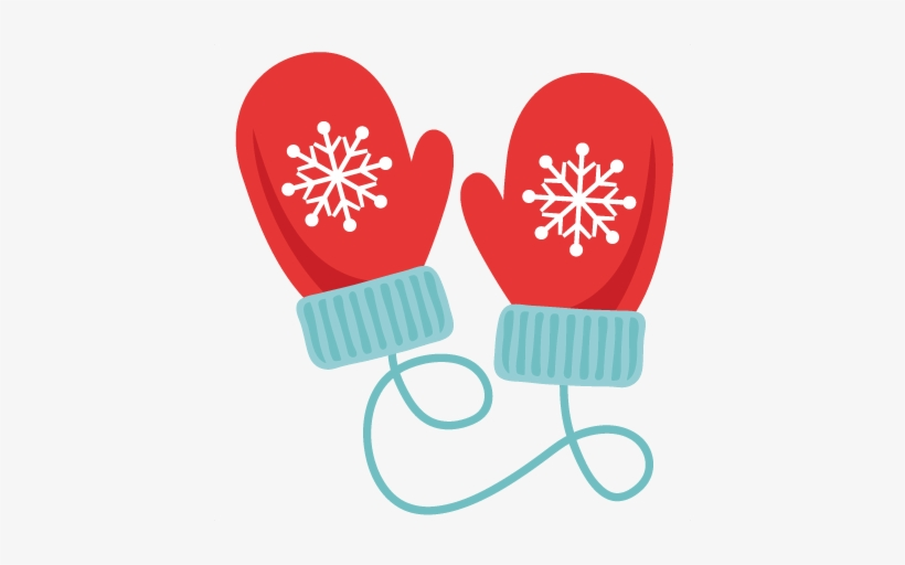 Winte mittens clipart vector library library Winter Mittens Svg Scrapbook Cut File Cute - Mittens Clipart ... vector library library