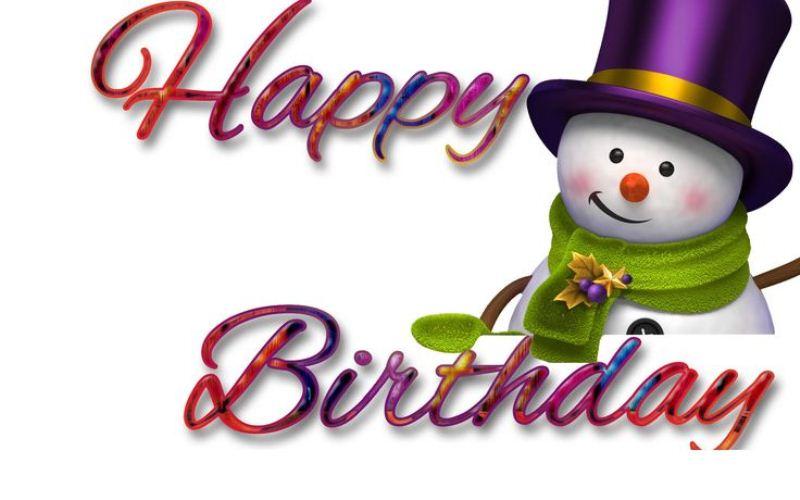 Winter anniversary clipart jpg free December Birthday Clipart | Free download best December ... jpg free