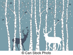 Winter birch tree clipart royalty free library Birch tree Illustrations and Clip Art. 8,503 Birch tree ... royalty free library