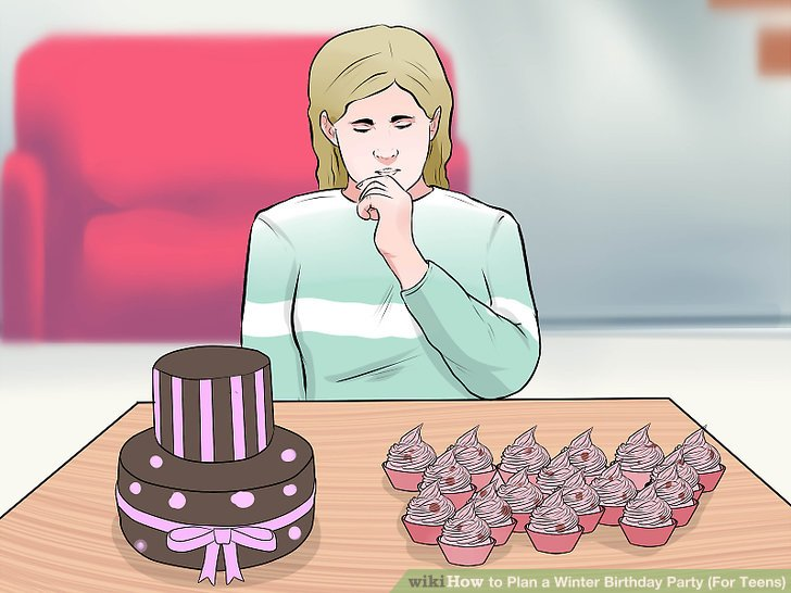 Winter birthday decorations clipart freeuse stock 3 Ways to Plan a Winter Birthday Party (For Teens) - wikiHow freeuse stock