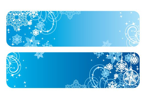 Winter banner clipart clip freeuse download Free Snowflake Banner Cliparts, Download Free Clip Art, Free ... clip freeuse download