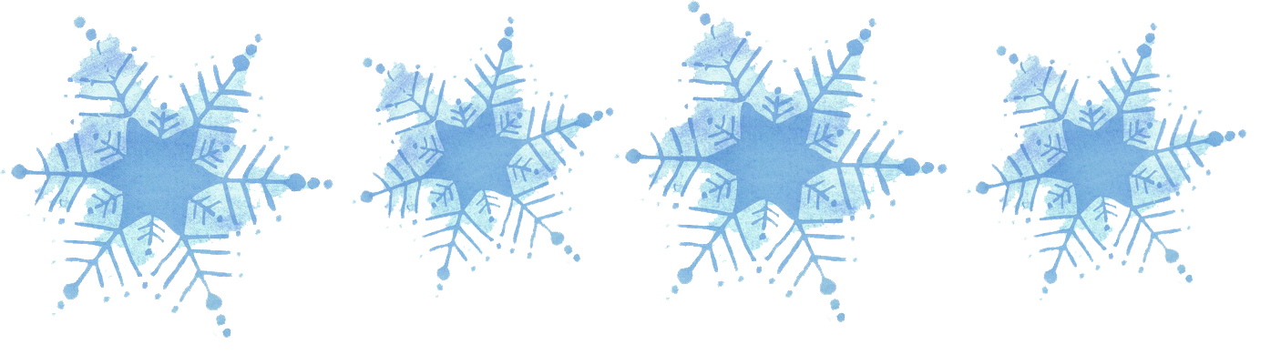 Winter blue banner clipart image transparent stock Free Snowflake Banner Cliparts, Download Free Clip Art, Free ... image transparent stock