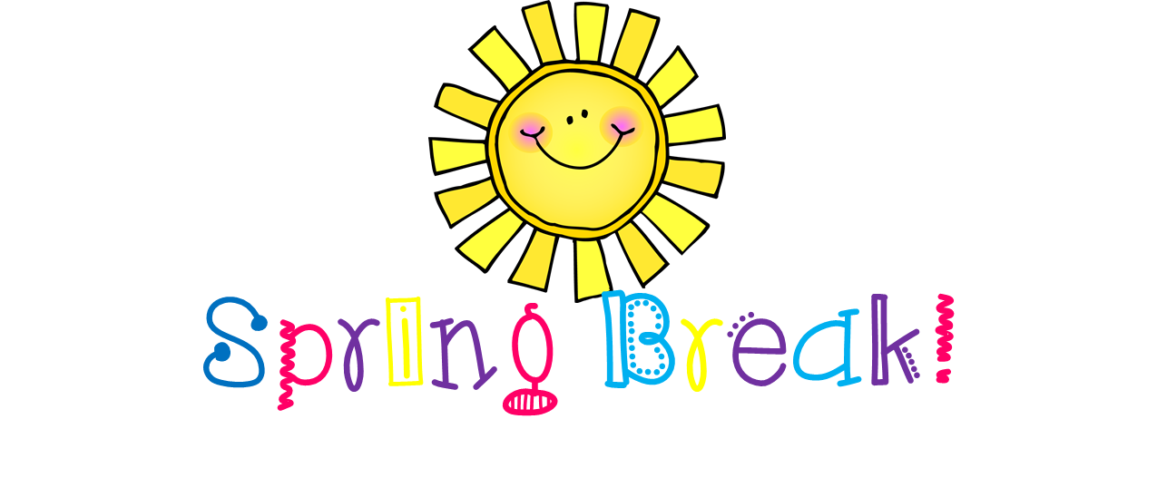 Winter break no school clipart banner free No School – Spring Break/Las Vacaciones de Primavera – Burke Basic ... banner free