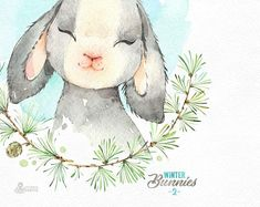 Winter bunny clipart picture library library 97 Best Winter - Clipart images in 2019 | Drawings ... picture library library