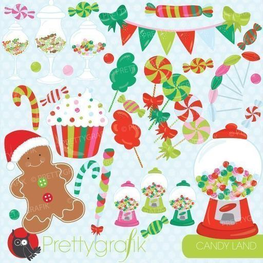 Winter candyland clipart picture black and white download Sweets Clipart — mygrafico picture black and white download