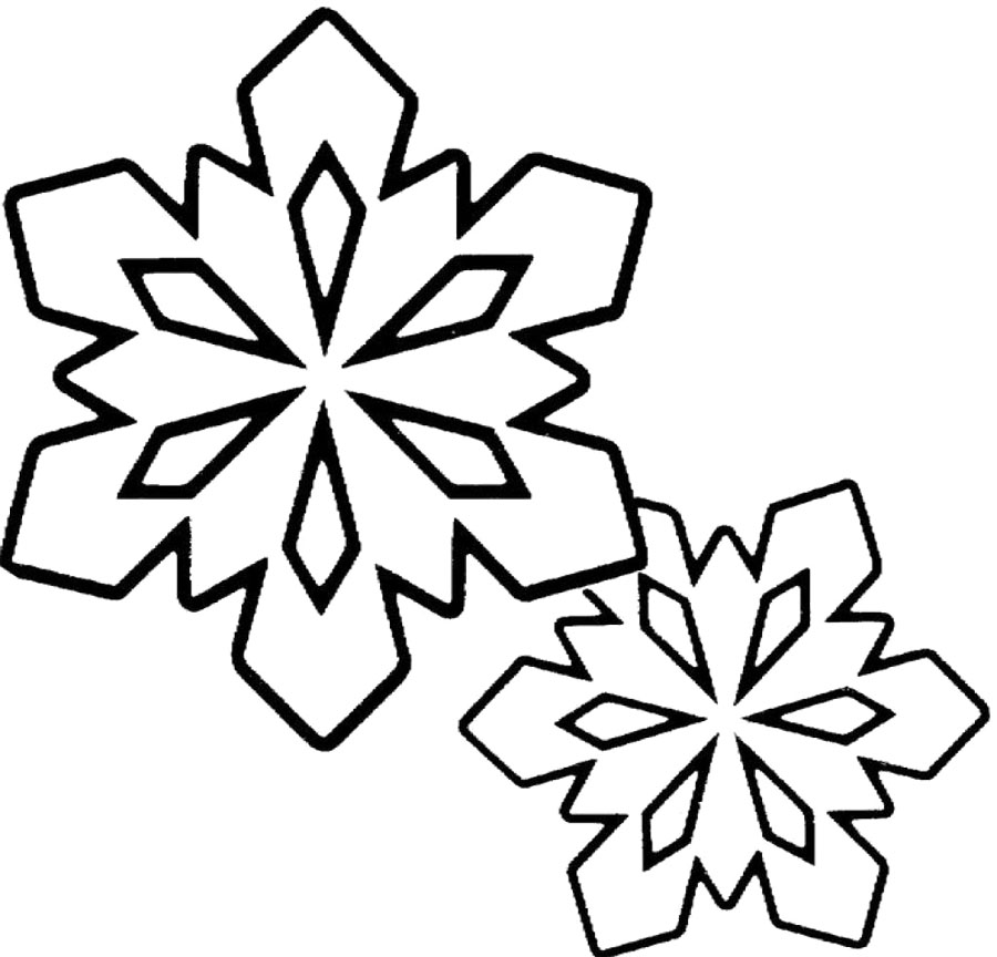 Winter clipart black and white free jpg transparent download Free Black And White Snowflake Clipart, Download Free Clip ... jpg transparent download