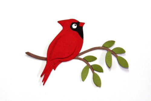 Winter clipart cardinal png free stock Réaliser des z\'animaux rigolos avec les perfos : des oiseaux ... png free stock