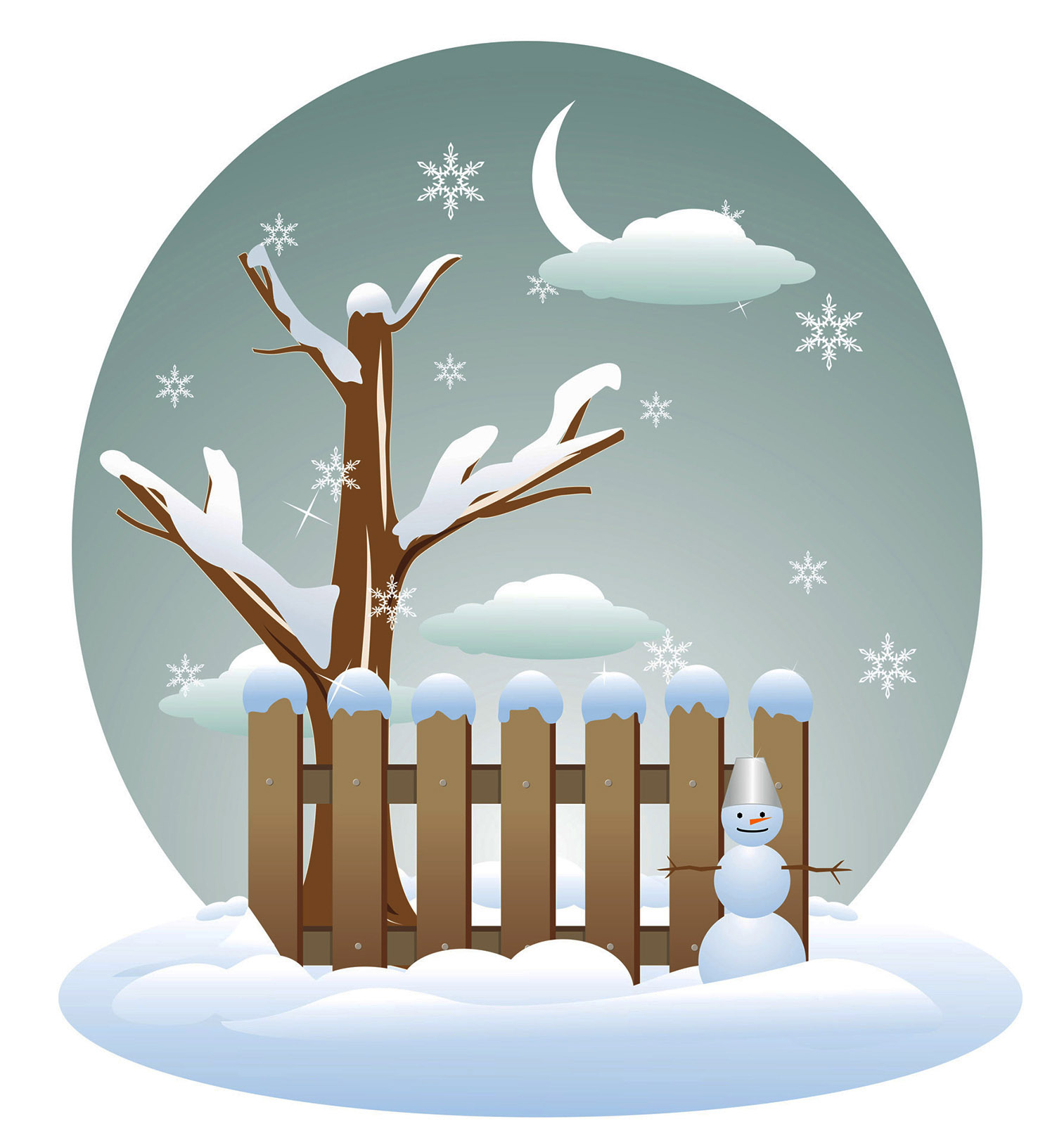 Winter clipart image clipart library library Winter clipart 5 » Clipart Station clipart library library