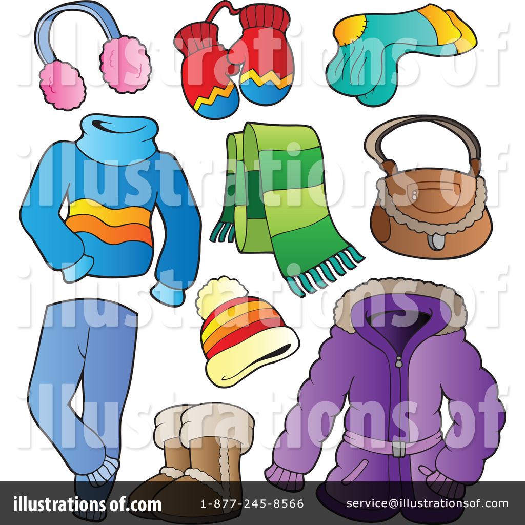 Winter clothes pictures clipart png free Winter Clothes Clipart #1081660 - Illustration by visekart png free
