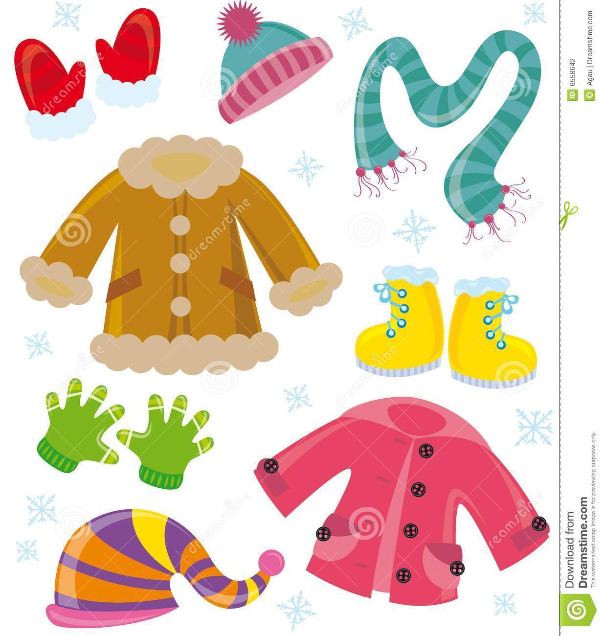 Winter clothes pictures clipart vector royalty free library Winter season clothes clipart 4 » Clipart Portal vector royalty free library