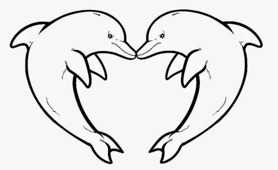 Winter dolphin valentines clipart banner library library Free Printable Pictures Of Dolphins, Download Free Clip Art ... banner library library