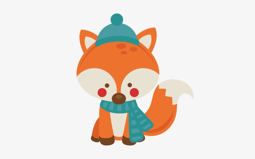 Winter fox in snow clipart svg royalty free download Movie Clipart Winter - Cute Winter Fox Clipart Transparent ... svg royalty free download