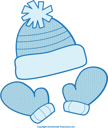 Wintrg clipart vector library library Download Free Winter Clipart - Winter Hat Gloves Clip Art ... vector library library
