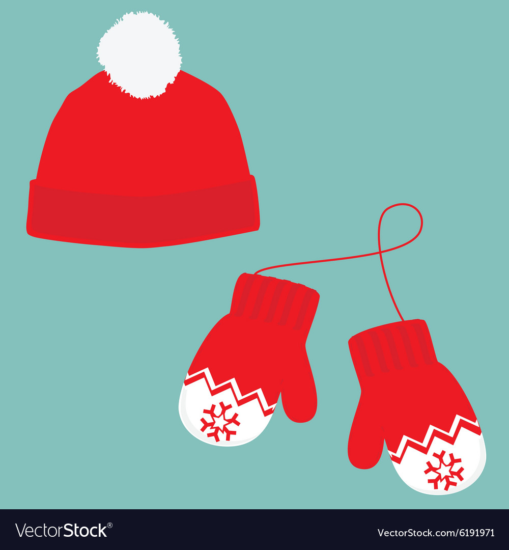 Winter hat and mittens clipart clipart freeuse download Winter hat and mittens clipart freeuse download