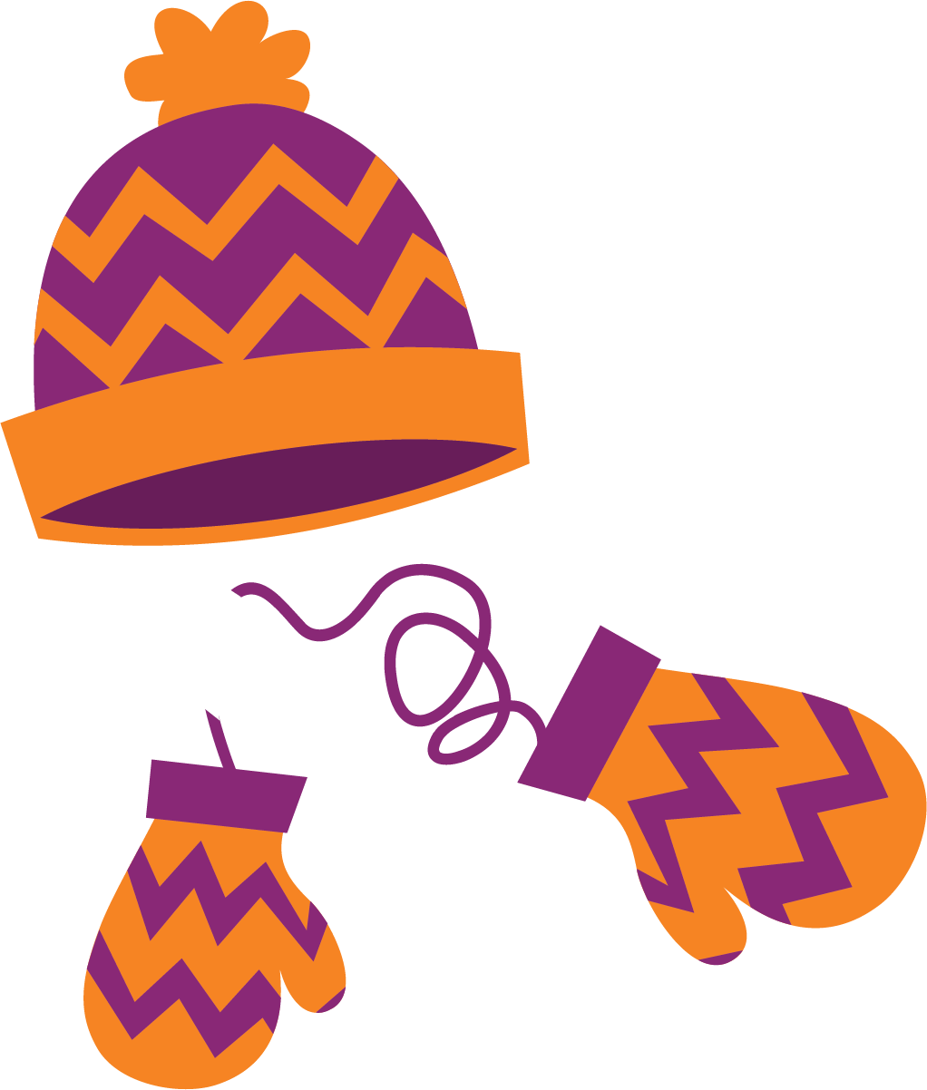Winter hat and mittens clipart vector free Winter Hat And Gloves Clipart   Free download best Winter ... vector free
