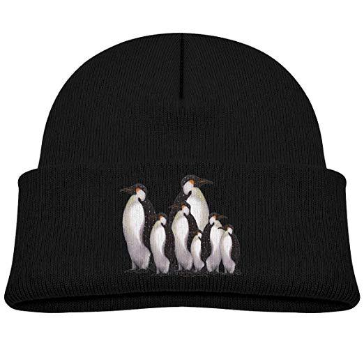 Winter hat on child clipart vector black and white Amazon.com: TONICCN Penguin Clipart Winter Warm Kid\'s Knit ... vector black and white