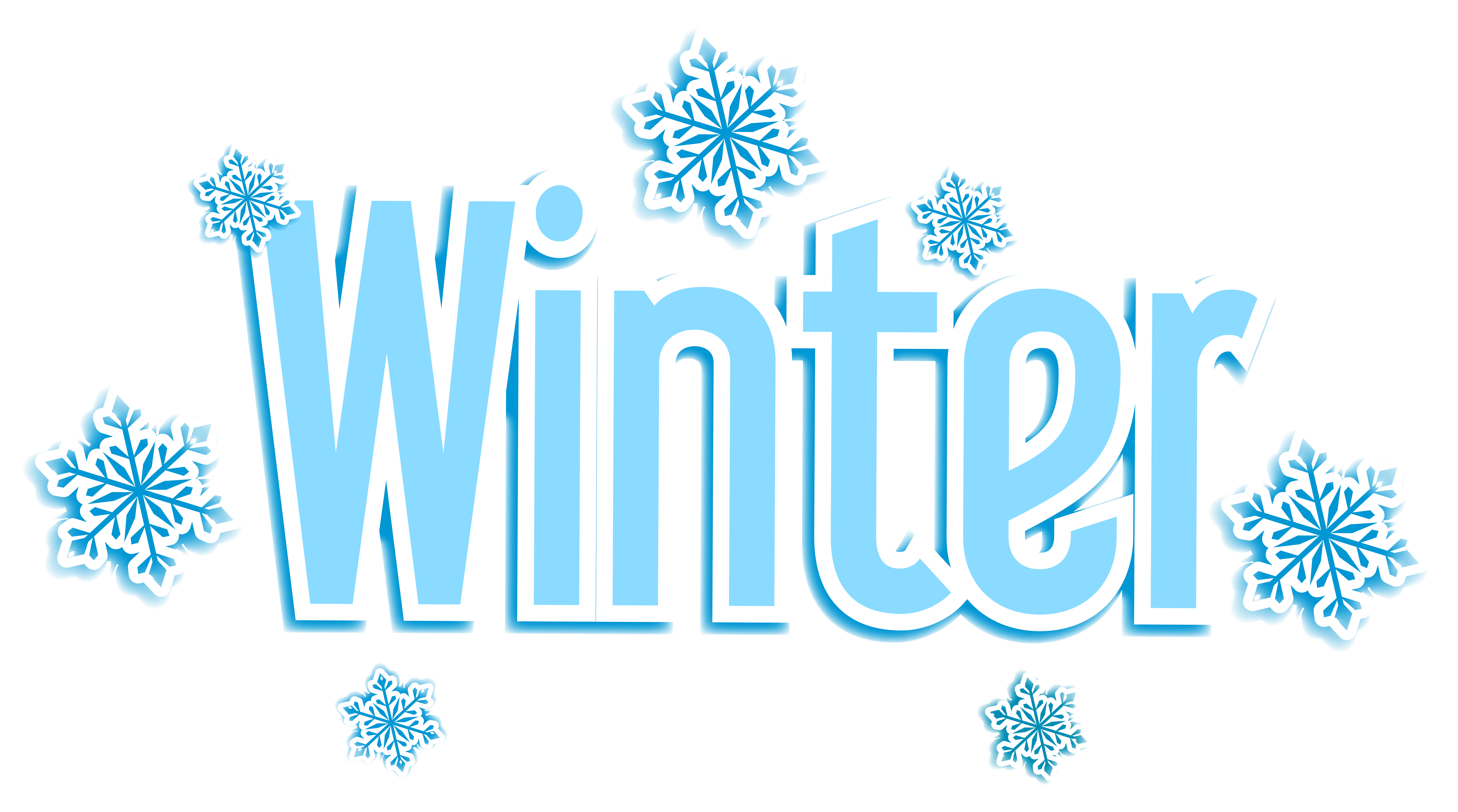 Winter heart clipart image library stock Winter Text Transparent PNG Clip Art Image   Gallery Yopriceville ... image library stock