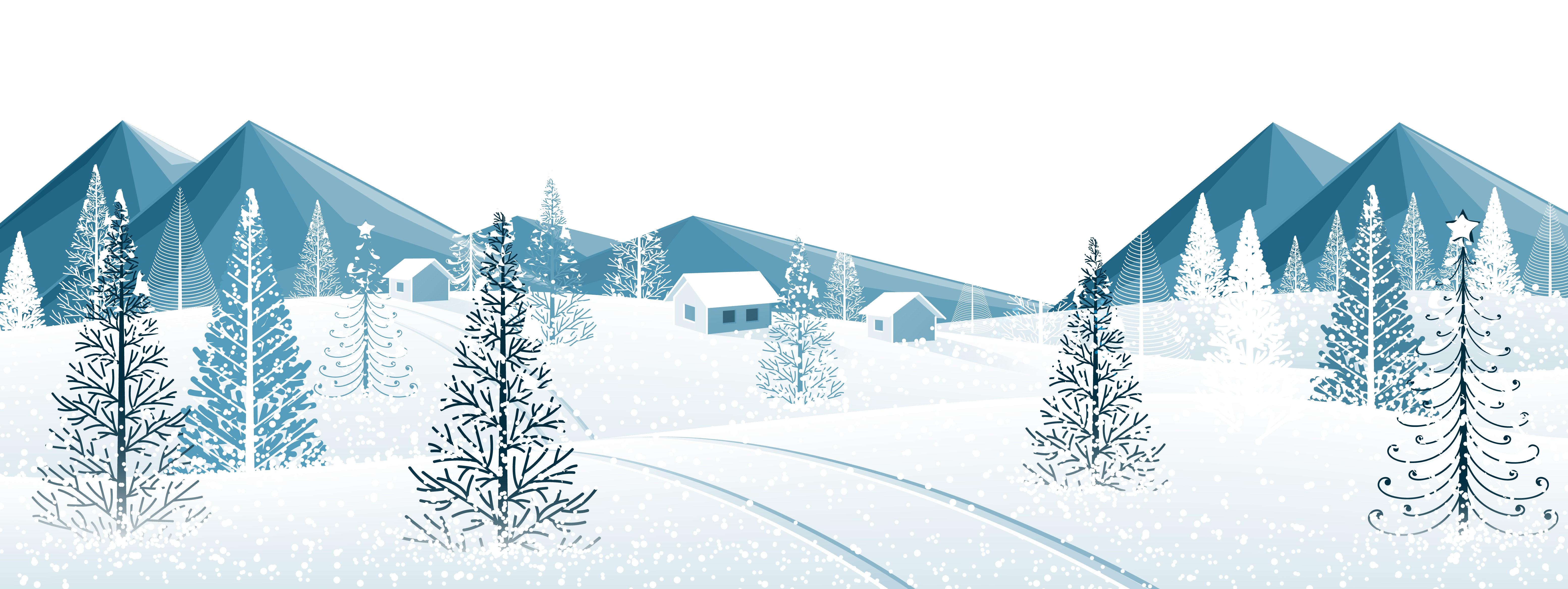 Winter star clipart clip royalty free library Winter Ground with Trees PNG Clipart Image   Gallery Yopriceville ... clip royalty free library