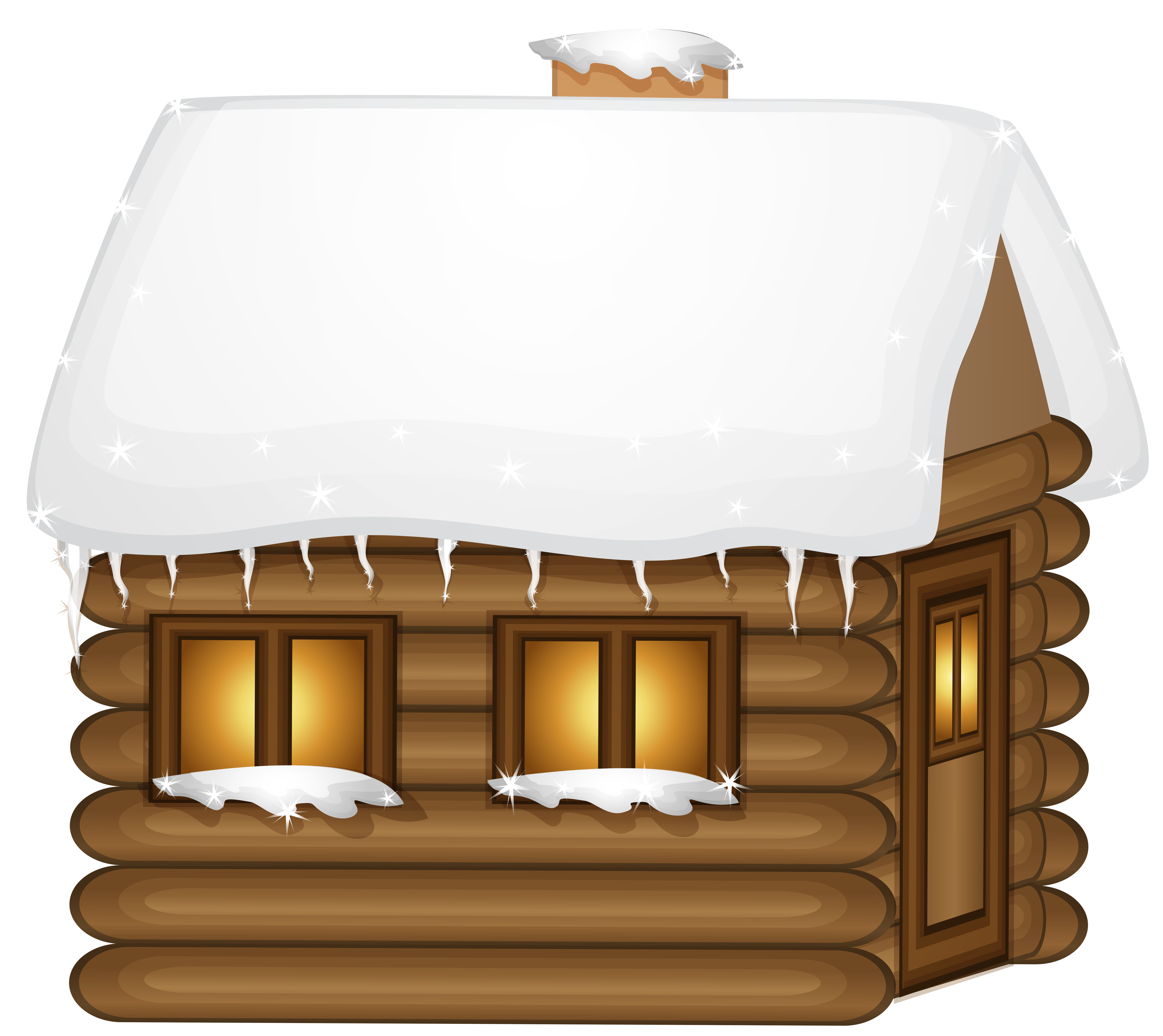 Winter heart clipart clip art free stock Winter Wooden House PNG Clip-Art Image | Gallery Yopriceville ... clip art free stock