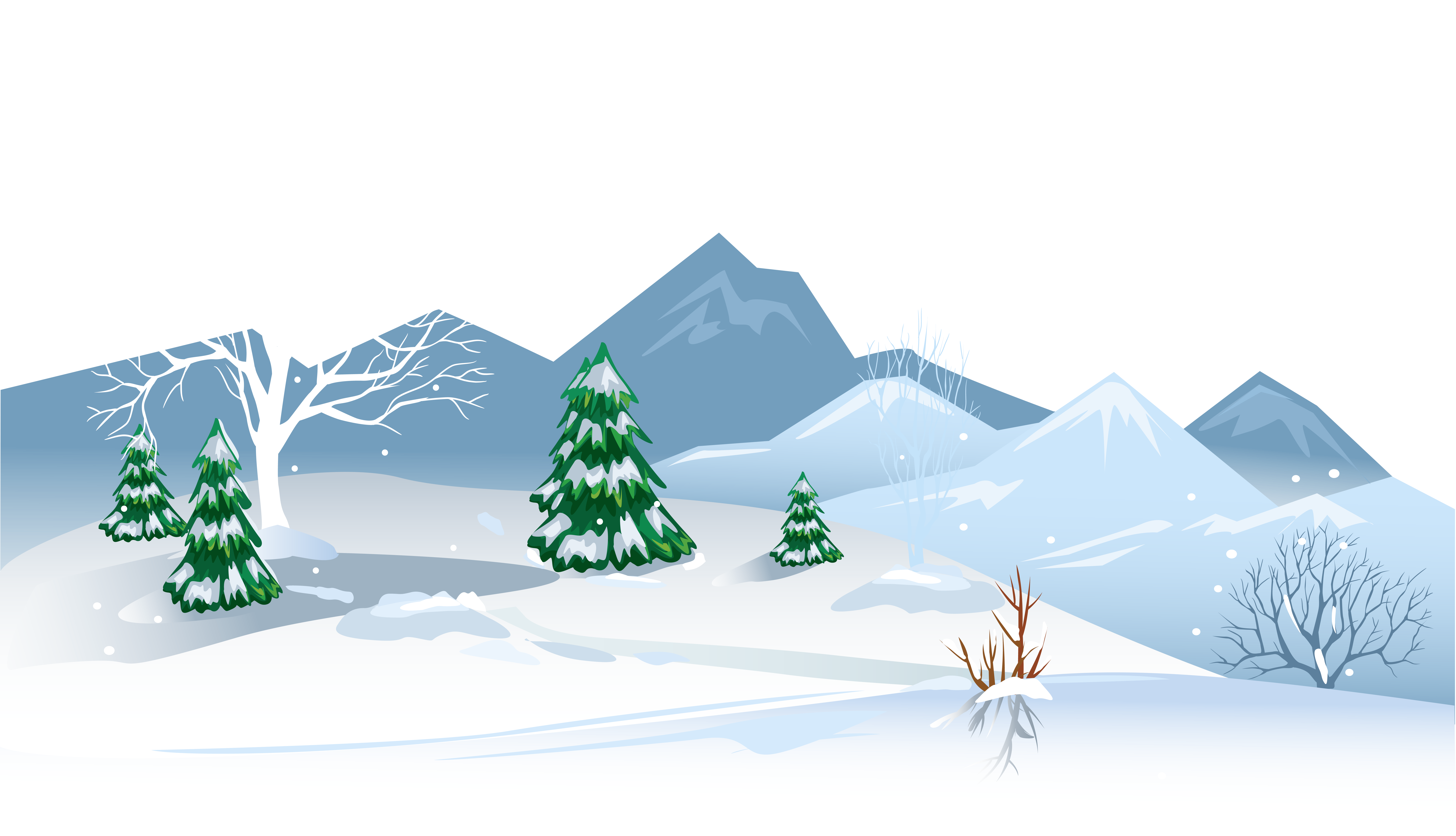 Winter snow picnic clipart banner free stock Winter Ground with Snow PNG Clipart Image | Gallery ... banner free stock