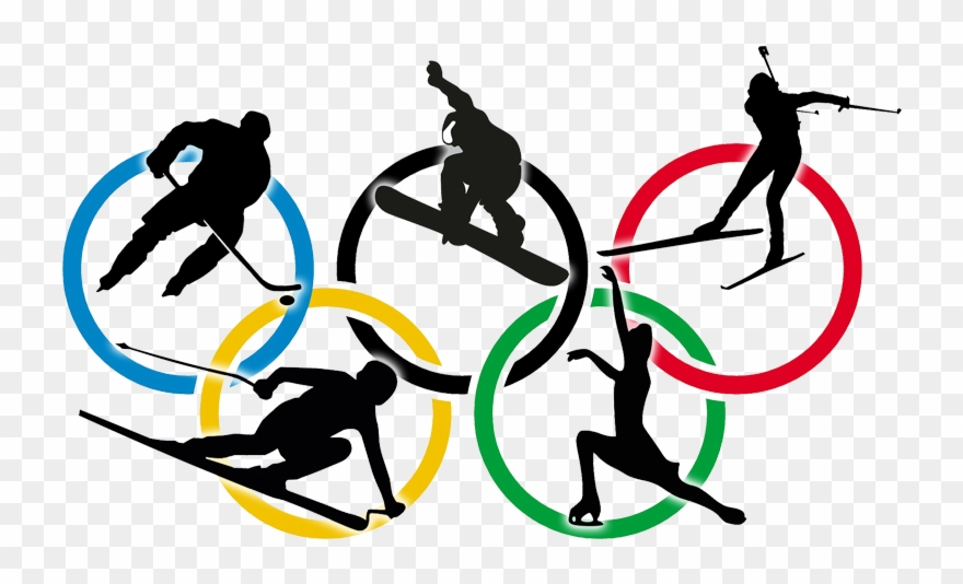 Winter olympics sports clipart svg black and white stock 09 - 02 - - Winter Olympics Images 2018 Clipart (#390154 ... svg black and white stock