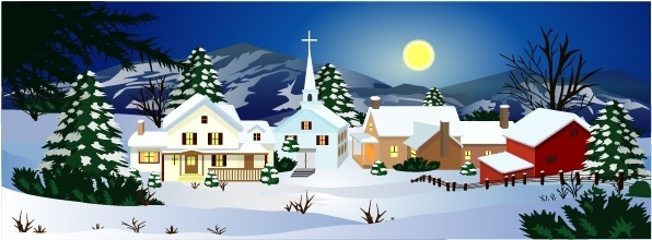 Winter scene background clipart free clipart transparent Winter landscape clipart free vector download (5,808 Free ... clipart transparent
