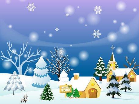 Winter scene background clipart free clip art download Free Winter Background Clipart and Vector Graphics - Clipart.me clip art download
