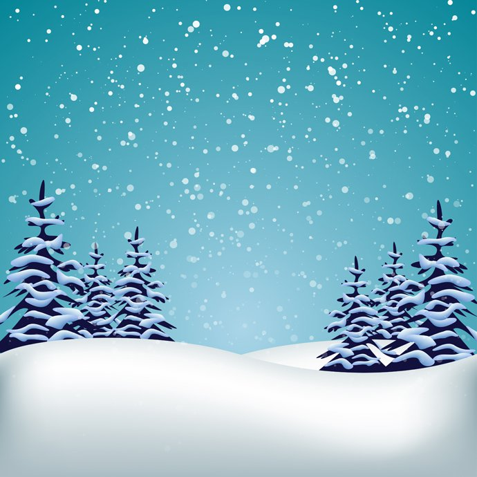 Winter scene background clipart free svg transparent stock Free Snowy Landscape Cliparts, Download Free Clip Art, Free ... svg transparent stock