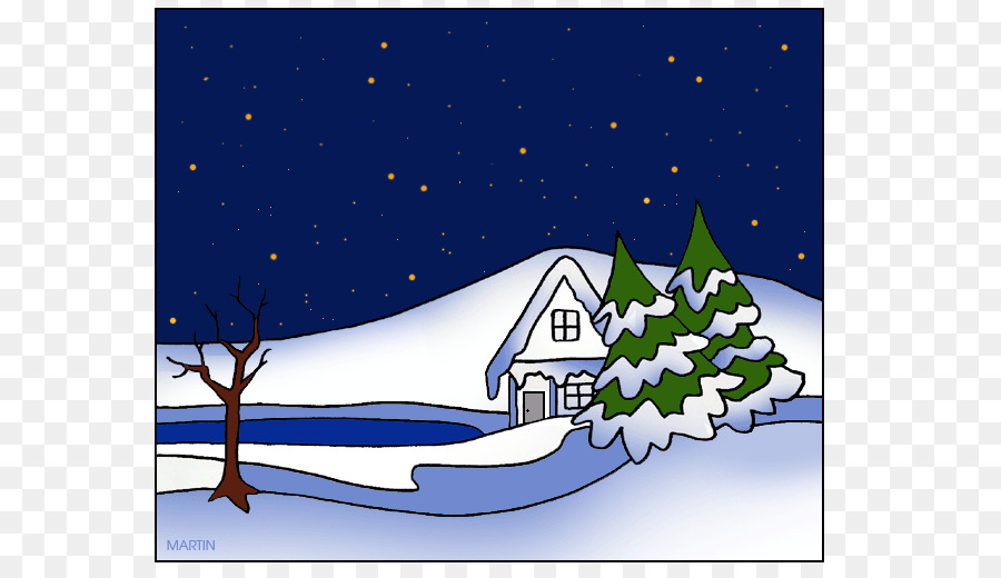 Winter scenery clipart png svg black and white library Free Winter Scene Silhouette, Download Free Clip Art, Free ... svg black and white library