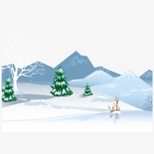Winter snow clipart silhouette clip royalty free download Fresh Beautiful Heavy Snow Winter Png And Psd - Deer ... clip royalty free download