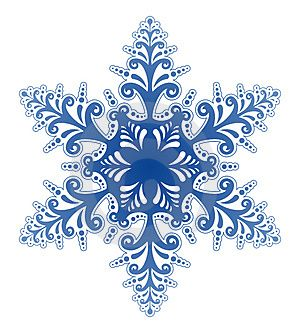 Winter snowflakes clipart banner freeuse stock Winter Snowflakes Clip Art | Decorative Snowflake Ornament ... banner freeuse stock