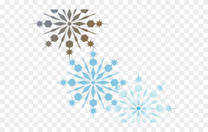 Winter snowflakes clipart clip art library library Snowflake Clipart Winter Wonderland - Transparent Background ... clip art library library