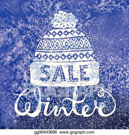 Winter special clipart clipart free stock Vector Clipart - Winter special banner or label with a ... clipart free stock