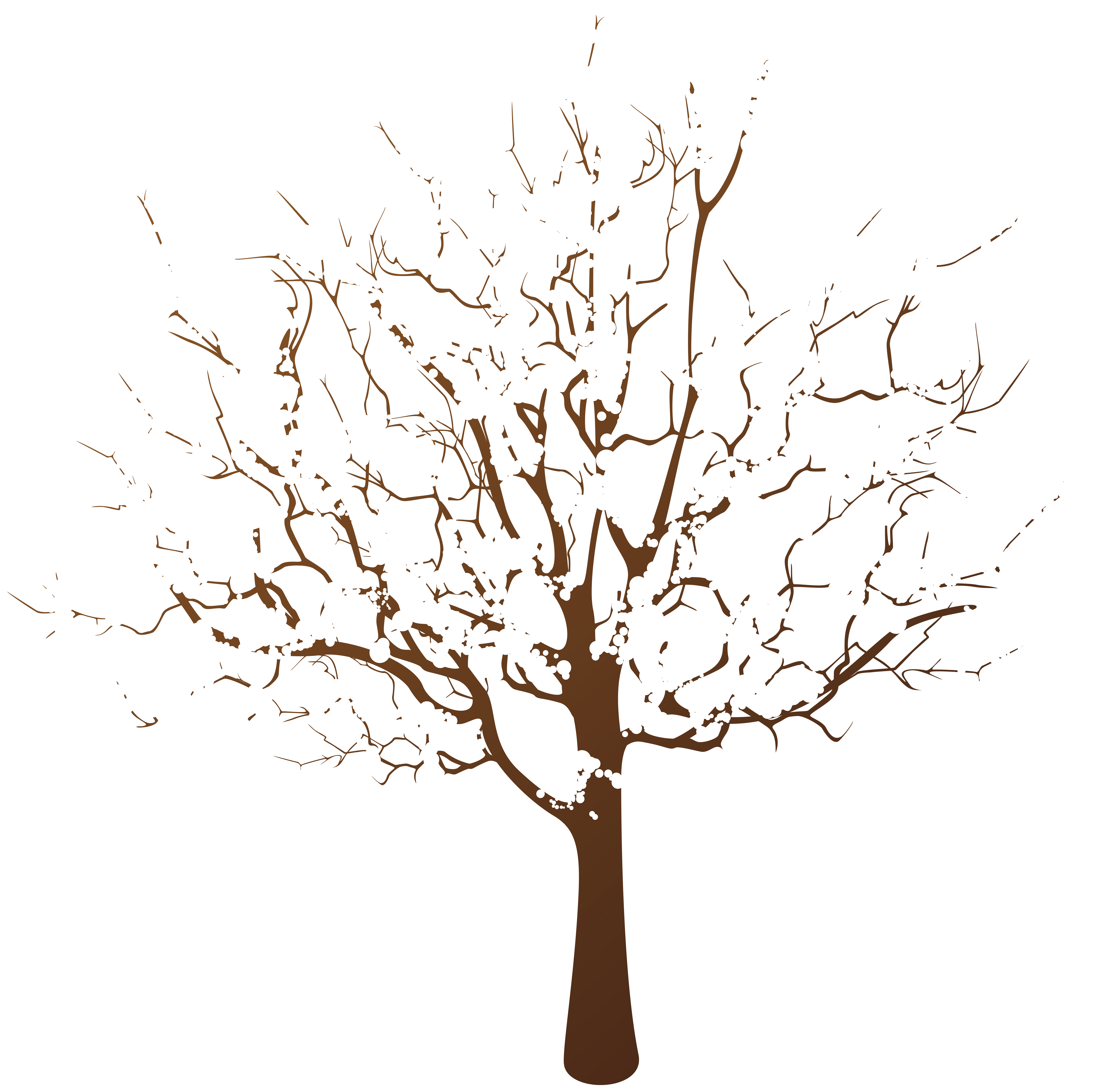 Winter transparent clipart graphic free Winter Tree Transparent Clip Art | Gallery Yopriceville ... graphic free