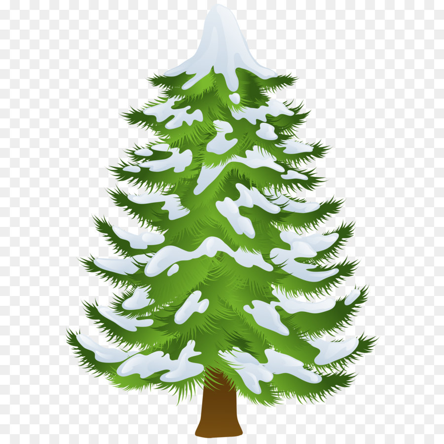 Snow trees clipart clipart transparent library Download Free png Pine Tree Winter Clip art Winter Pine Tree ... clipart transparent library