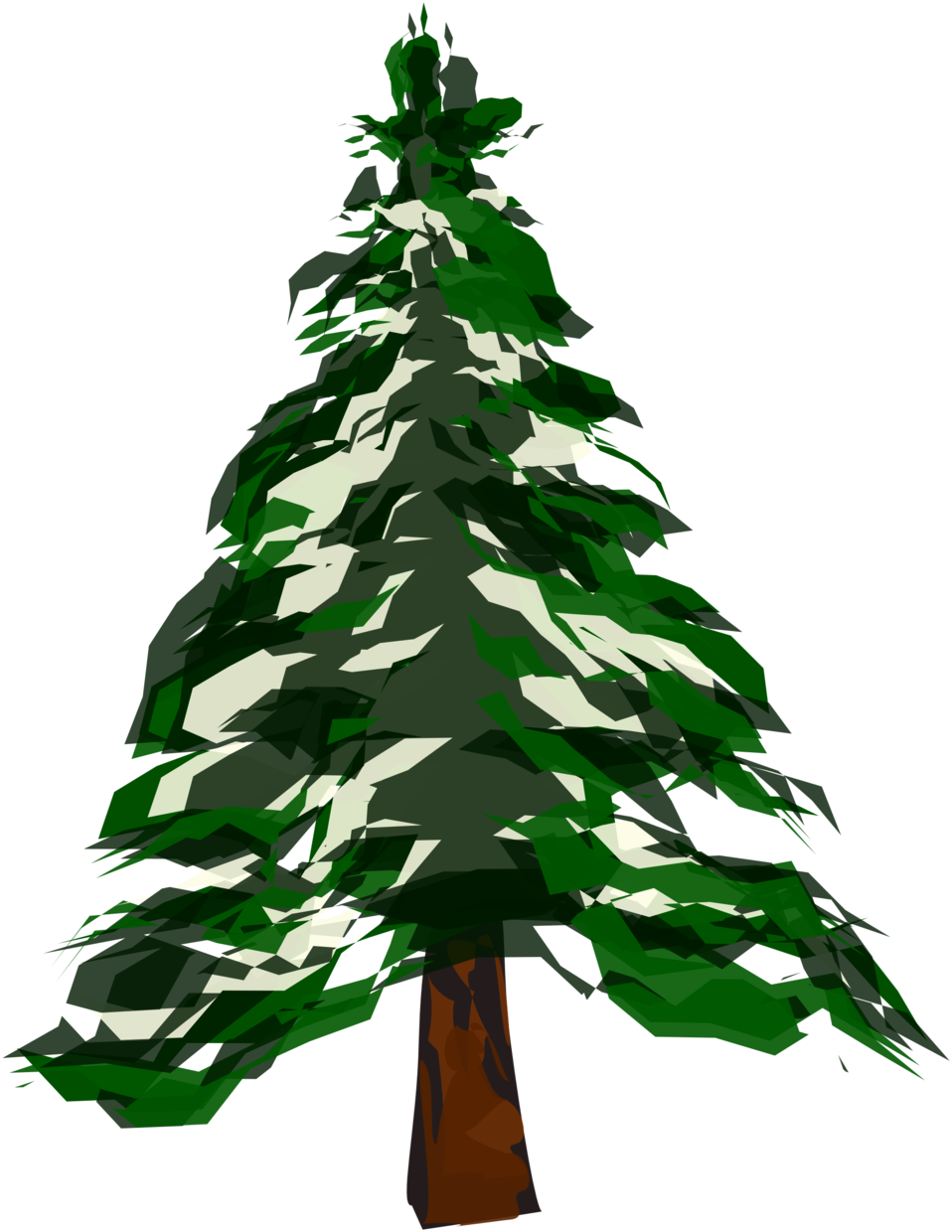 Winter tree clipart free png Public Domain Clip Art Image | Winter Tree 1 | ID: 13529506814097 ... png