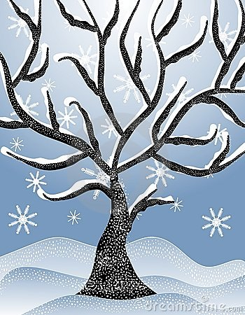 Winter trees clipart free banner black and white download 89+ Winter Tree Clip Art | ClipartLook banner black and white download