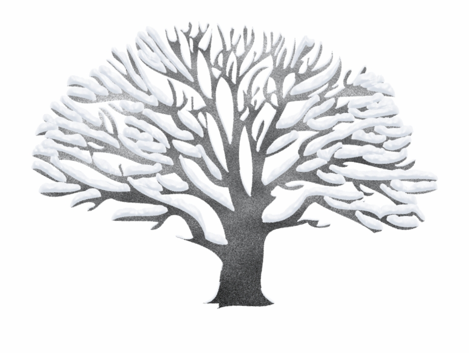 Winter trees clipart free image free stock Vector Black And White Library Ping - Winter Trees Clip Art ... image free stock