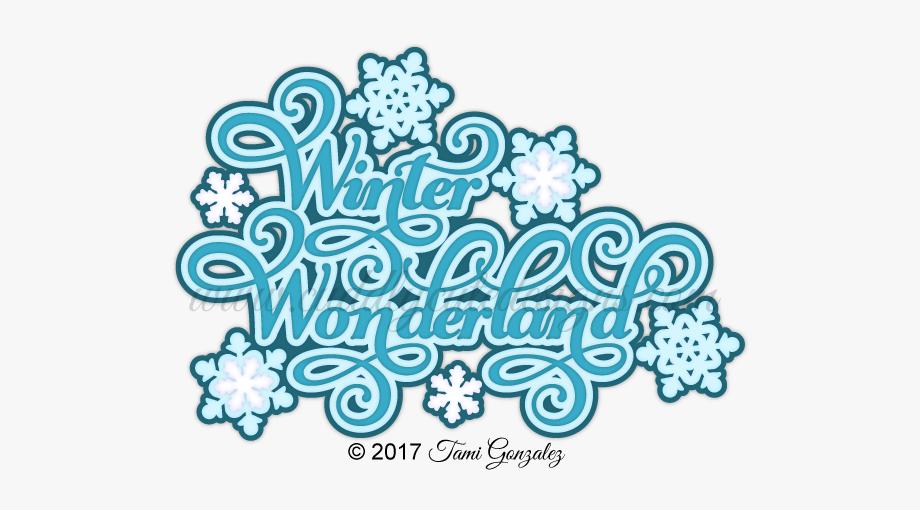 Winter wonderland clipart transparent background image royalty free stock Winter Wonderland Title Winter Clipart, Layout Template ... image royalty free stock