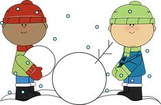Winterchildren clipart free banner transparent library 150 Best Clip Art-Winter images in 2018 | Christmas images ... banner transparent library