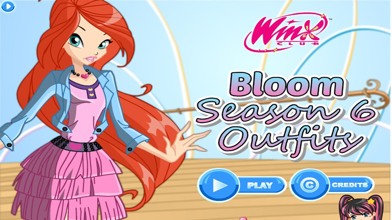 Winx club season 6 clipart image Baby Games For Kids - Winx Club Bloom Season 6 Outfits image