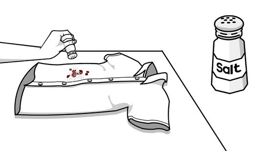 Wipe off clothes clipart black and white clip free stock 3 Ways to Remove Red Wine from Fabric - wikiHow clip free stock